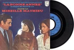 B.O.F.LA BONNE ANNEE - C. LELOUCH / F. LAI / M. MATHIEU / L. VENTURA / F. FABIAN - 1973 - EXCELLENT ETAT  QUASI NEUF - Musique De Films