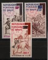 Bénin - 1976 - Poste Aérienne PA N°Yv. 260 à 262 - US Independance - Neuf Luxe ** / MNH / Postfrisch - Benin - Dahomey (1960-...)