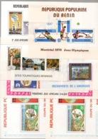 Bénin - 1976-1992 - Collection - Blocs N°Yv. 23 à 29 - Neuf Luxe ** / MNH / Postfrisch - Benin - Dahomey (1960-...)