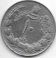 *iran 10 Rials Sh 1335 Km 1177 Vf - Iran