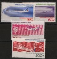 Bénin - 1977 - Poste Aérienne PA N°Yv. 269 à 272 - Aviation - Neuf Luxe ** / MNH / Postfrisch - Benin - Dahomey (1960-...)