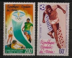 Bénin - 1977 - Poste Aérienne PA N°Yv. 273 à 274 - Football World Cup - Neuf Luxe ** / MNH / Postfrisch - Benin - Dahomey (1960-...)