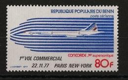 Bénin - 1977 - Poste Aérienne PA N°Yv. 273 à 278 - Concorde - Neuf Luxe ** / MNH / Postfrisch - Concorde