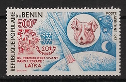 Bénin - 1977 - Poste Aérienne PA N°Yv. 282 - Laika / Space - Neuf Luxe ** / MNH / Postfrisch - Afrika