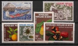 Bénin - 1978 - Taxe TT N°Yv. 47 à 52 - Taxe Complet - 6 Valeurs - Neuf Luxe ** / MNH / Postfrisch - Benin - Dahomey (1960-...)