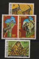 Bénin - 1979 - N°Yv. 457 à 460 - Faune / Animals - Neuf Luxe ** / MNH / Postfrisch - Benin - Dahomey (1960-...)
