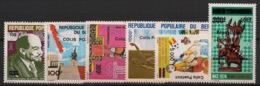 Bénin - 1982-89 - Colis Postaux CP N°Yv. 13 à 18 - Complet - 6 Valeurs - Neuf Luxe ** / MNH / Postfrisch - Benin - Dahomey (1960-...)