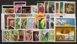Bénin - 1986 - Année Complete - N°Yv. 626 à 647 + PA / Airmail 356 à 363 - Neuf Luxe ** / MNH / Postfrisch - Benin - Dahomey (1960-...)