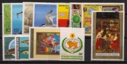 Bénin - 1989 - Année Complete - N°Yv. 669 à 679 + PA / Airmail 369 - Neuf Luxe ** / MNH / Postfrisch - Benin - Dahomey (1960-...)