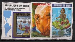 Bénin - 1992 - Année Complete - N°Yv. 699 à 702 - Neuf Luxe ** / MNH / Postfrisch - Benin - Dahomey (1960-...)