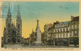 CPA - Belgique - Oostende - Ostende - Eglise SS. Pierre Et Paul - Oostende