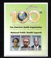 Antigua & Barbuda 2002 Pan American Health Organization MNH -(V-72) - Unclassified