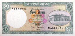 Bangladesh 20 Taka, P-22 (1979) - UNC - Bangladesch