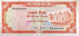 Bangladesh 50 Taka, P-23 (1979) - Very Fine - Pin Holes! - Bangladesh