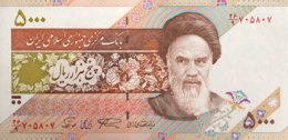 Iran 5.000 Rial, P-145c (1993) - UNC - Sign. 28 - Iran