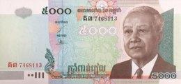 Cambodia 5.000 Riel, P-55c (2004) - UNC - Cambodia