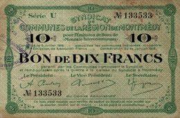 7297-2019    BILLET  DE  MONTMEDY - France