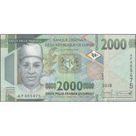TWN - GUINEA NEW - 2000 2.000 Francs 2018 Prefix AP UNC - Guinée