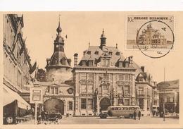 CPA - Belgique - Namur - La Bourse Du Commerce Et Le Beffroi - Namur