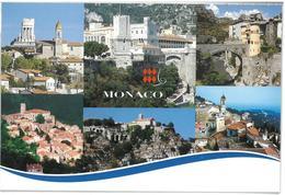 Francia France Monaco 6 Vedute Non Viaggiata Condizioni Come Da Scansione - Viste Panoramiche, Panorama