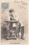 CPA  SARAH BERNHARDT Dans L'Aiglon     1904 - Artistes