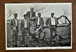 """Kaart """" THE  VIROJACKS """"  Rond 1968 Gesigneerd         Uit De Streek Herentals -- Turnhout - Herentals"""