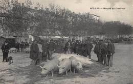CPA Béziers - Marché Aux Bestiaux - Beziers