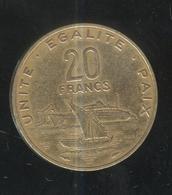 20 Francs Djibouti 1983 - Djibouti