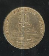 20 Francs Djibouti 1983 - Dschibuti