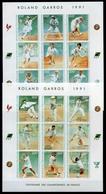 Elfenbeinküste 2KB MiNr. 1029-46 B Postfrisch MNH Tennis (GF8758 - Côte D'Ivoire (1960-...)