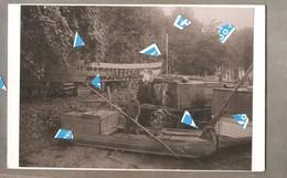 Lier Foto Photo Oude Reproductie Palingvissers Op De Nete Detail Schuit Met Familie Schipper 150 Mm X 230 Mm - Lier