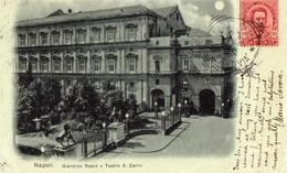 Napoli Giardino Reale E Teatro San Carlo - Napoli