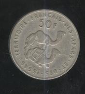 50 Francs Territoire Des Afars Et Des Issas 1975 - Dschibuti
