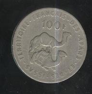 100 Francs Territoire Des Afars Et Des Issas 1970 - Dschibuti