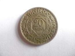 (B112)-MAROC-PIECE DE 1 FRANC-EMPIRE CHERIFIEN-1921 - Maroc