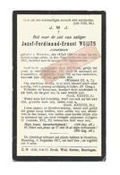 D 771. JOZEF WUIJTS - Jonkman - BEVERLOO 1888 / 1917 - Images Religieuses