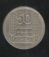 50 Francs Algérie Française 1949 - Algeria
