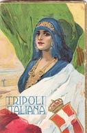 Calendrier 1918  TRIPOLI ITALIANA - Tamaño Pequeño : 1901-20