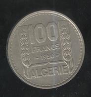 100 Francs Algérie Française 1950 - Algeria