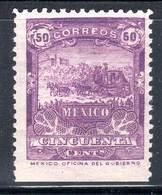 MEXIQUE - N°176 * (1898) Sans Filigrane - Mexico