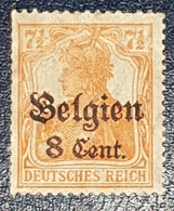 Timbre Allemagne/ Belge 7½ Neuf MNH*** - Zone Belge