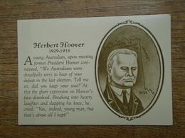 Herbert Hoover ( 30th President ) - Présidents