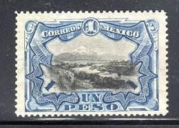 MEXIQUE - N°188 * (1899)  Un Peso - Mexico