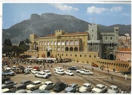 Francia France Principaute De Monaco Vue D'ensemble De La Place Du Palais De S.A.S. Le Prince De Monaco Viaggiata 1972 C - Viste Panoramiche, Panorama