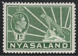 Nyasaland Protectorate 1938 - SG 131a, 1d - Symbol Of The Protectorate - MNH - - Nyasaland (1907-1953)