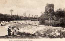 67- SAARWERDEN -ECLUSE ET RUINE - France
