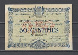 Chambre De Commerce D'AVIGNON  Billet De 50c - Chamber Of Commerce