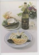 Les Vignerons De Tursan (Geaune 40) Landais Vieille Souche Tursan Blanc Carte Noire Recette Truite Saumonée (cp Vierge) - Vines