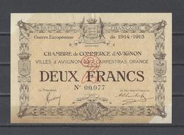 Chambre De Commerce D'AVIGNON  Billet De 2.00F - Chamber Of Commerce