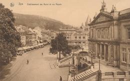 CPA - Belgique - Spa - Etablissement Des Bains Et Rue Royale - Spa